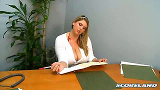 Secretary At Work