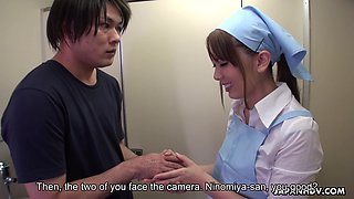 Japanese hidden camera prank featuring nice cleaning girl Yui Hatano