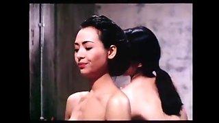 Old chinese movie shower scene