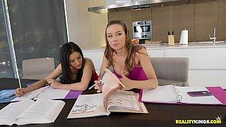 Capri Anderson & Shyla Jennings in Study Session - WeLiveTogether