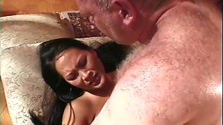 Aaliyah Yi has anal sex with older man
