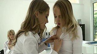 Schoolgirls in Detention