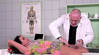 Tina Kay gets fucked by a doctor