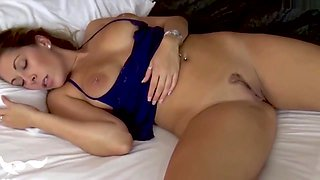 Son Molests Sleeping Mom & Fucks Her - Nikki Brooks