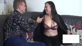 Thick asian milf wants some dick