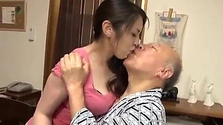 Anna Moriyama fucked with old men