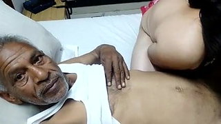 Desi sex with old man