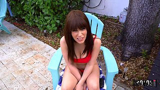 Duncan Saint & Emily Right & Kiara Edwards in Join Us By The Pool - MofosNetwork