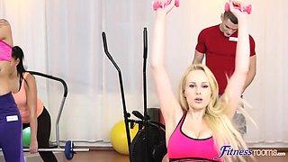 Angel Katarina - Busty Gym Babe S Big C