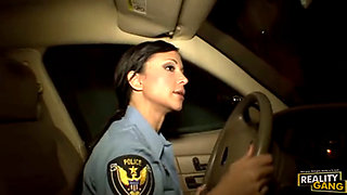 Police officer Jewels Jade fucks this thief