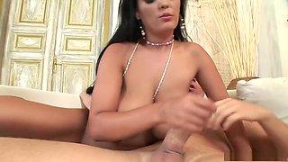 Incredible pornstar Jasmine Black in crazy big tits, brazilian porn movie