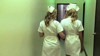 Paige Ashley naughty nurse fucking patient girlfriend