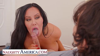 Naughty America - Hot Milf Sybil Stallone gets pounded