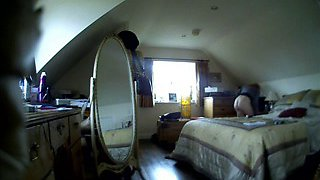 Riding the big one - hidden cam