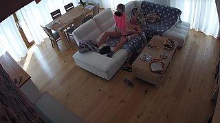 Hidden camera. The story of a family, a mistress