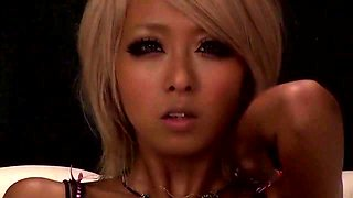 Crazy Japanese chick Mana Izumi in Best JAV censored Blonde, Threesomes movie