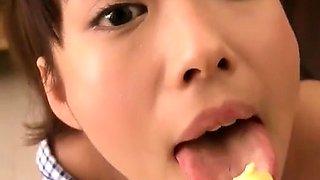 Cute Horny Korean Babe Banging