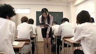 Kitagawa, Mio peeing female teacher