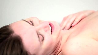 Cute young sexy schoolgirl Jay Taylor has her wet hairy