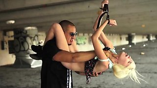 Extreme brutal toys first time Helpless teenager Piper Perri
