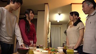 GVG-486 Son-in-law Aiming For Too Obscene Big Tits Of H