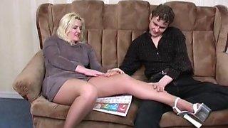 Amazing amateur Cougar, MILFs sex clip