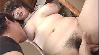 Closeup video of Asian slut Sakura Kawamine getting fucked deep