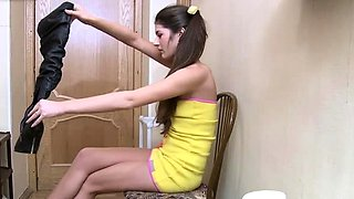 Engaging russian gf Agnessa's slit licked and banged