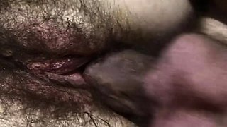 Skinny And Hairy Pussied MILF Wife Outdoor Fucked