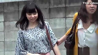 Hairy pussy asians piss into public toilet