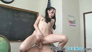 Asian schoolgirl anally punished by teacher