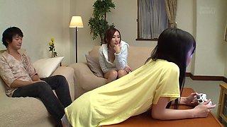 Fabulous Japanese girl JULIA in Hottest cougar, big tits JAV scene