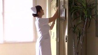 Incredible Japanese chick Megu Fujiura in Hottest Nurse, Big Tits JAV scene