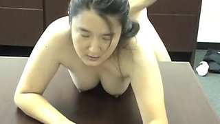 Little Asian JayLynn Anal Fucked With Big Facial
