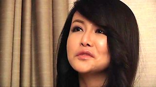 Horny Japanese whore Maika Asai in Crazy cougar, handjobs JAV video