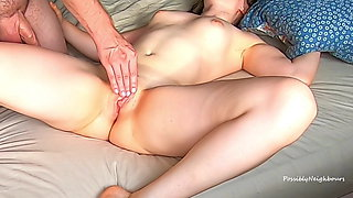 Fucked Her While She Was In Bed And Pumped it All in!