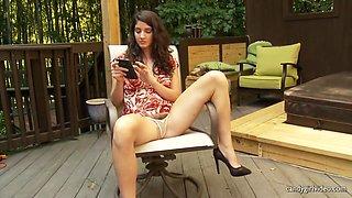Arielle Lane - Outdoor Upskirt Pt. I