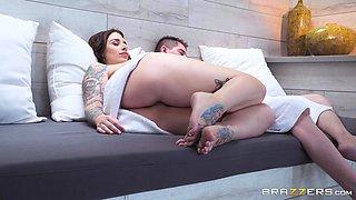 horny wife's affair with a neighbour