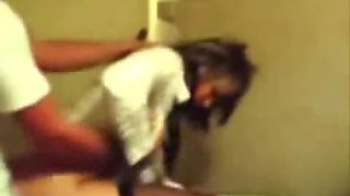 Emo Girl Gets Banged In The Toilet