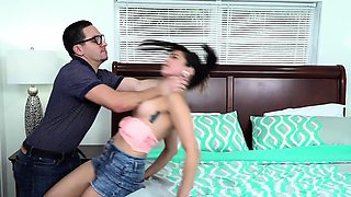 PunishTeens- Teen Brutally Fucked By School Nerd