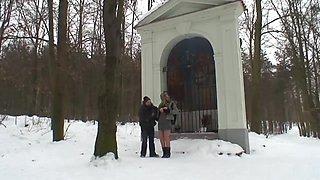 Horny pornstar in hottest european, blonde xxx video