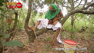 Horny muslim girl enjoys squirting in the farm (trailer)