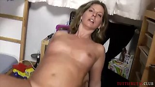 REAL amateur Mom first porn