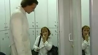 Hardcore orgy with fisting in dental clinic